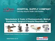 Operation Theatre Equipment By Hospital Supply Company Kolkata