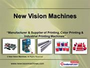Pad Printing Machines By New Vision Machines Gurgaon