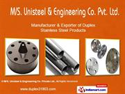 Ss 309 Products By M/S Unisteels & Engineering Co. Pvt Ltd Mumbai
