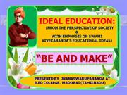 IDEAL EDUCATION