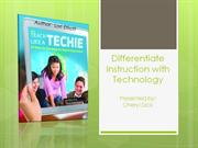 Differentiate Instruction with Technology