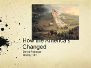 How the America's Changed