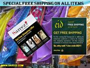 Special Free Shipping On All Items- Sareez and Salwaar Kameez