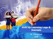 journals and learning logs