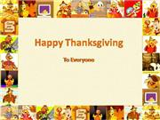 Thankgiving PowerPoint template
