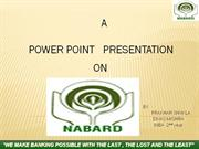 PPT ON NABARD