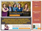Ensure quality parameters before joining Health Retreats Sydney - www.