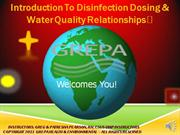 Disinfection Online Part 1 RECORDED