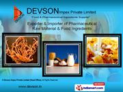 DEVSON IMPEX PRIVATE LIMITED,Mumbai India