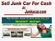 Sell Junk Car For Cash