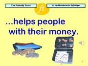 Friendly Trust - Bank Accounts Made Easy
