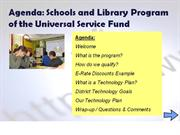 schools and libraries program