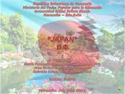 Final project done by gabriela maria and Jean about japan, section: d2