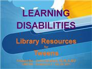 Strabala Learning Disabilities Shared Mini Lecture Small