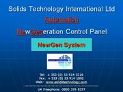 Solids Technology Automation