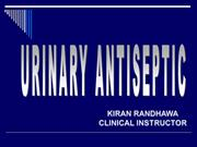 urinary antiseptic