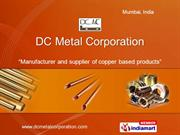 Copper Flats By Dc Metal Corporation, India Mumbai