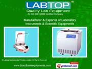 Blood Bank Equipments By Labtop Instruments Private Limited Mumbai