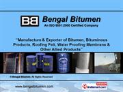 Industrial Bitumen By Bengal Bitumen New Delhi