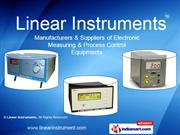 Portable Instruments By Linear Instruments Chennai