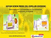 Goyum 20 By Goyum Screw Press (Oil Expeller Division) Ludhiana