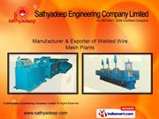 Welded Wire Mesh Plants By Sathyadeep Engineering Company Limited Noid