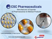 Pharmaceutical Products By Csc Pharmaceuticals Mumbai
