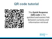BMJ Journals - QR Code tutorial