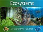 Ecosystems