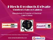 Co-Axial Cables By Hitech Products Private Limited (Falcon Cables) New