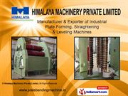 Bending Machines By Himalaya Machinery Private Limited Vadodara