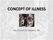 concept of illness