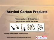 Industrial Carbon Brushes. By Aravind Carbon Products Coimbatore