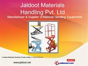 Platform Trucks By Jaldoot Materials Handling Private Limited Pune