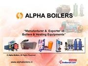 Oil Fired Thermic Fluid Boilers By Alpha Boilers Chennai