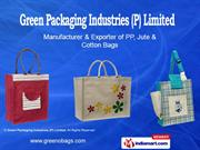 Jute Drawstring Bags By Green Packaging Industries (P) Limited Kolkata