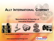 Butt Weld Fittings By Ally International Company Mumbai
