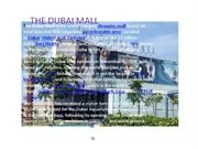 the dubai mall,case study