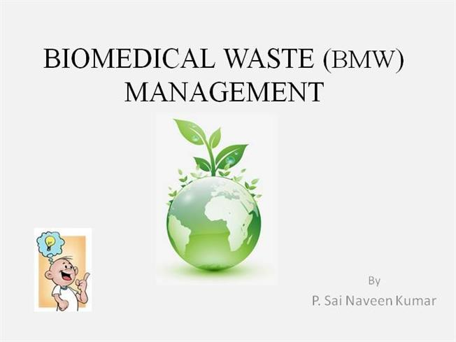Biomedical waste management bmw downloadable authorstream toneelgroepblik Images