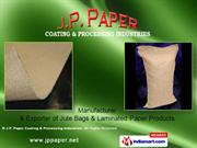 Laminated Paper Product By J.P. Paper Coating & Processing Industries
