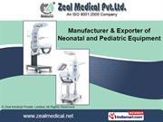 Intensive Care Incubator By Zeal Medical Private Limited Mumbai