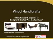 Natural Designer Furniture By Vinod Handicrafts Jodhpur