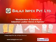 Leather Gloves By Balaji Impex Pvt. Ltd. Kolkata