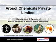 Veterinary Products For - Campanion Animals By Arosol Chemicals
