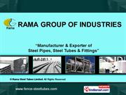 Structural Steel Products By Rama Steel Tubes Limited New Delhi