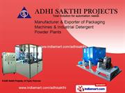 Cosmetics Plant And Machines By Adhi Sakthi Projects Pondicherry