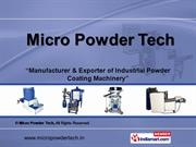 Powder Coating Machine - Acm Grinding Mill By Micro Powder Tech