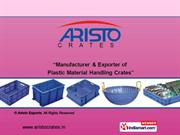 Industrial Plastic Crates (Series 500-325) By Aristo Exports Mumbai