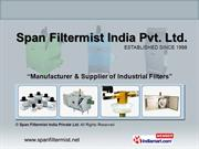 Industrial Air Filter(Edm Clean X Filter) By Span Filtermist India