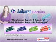 Medicated Toothpaste By Jaikaran Herbals Delhi